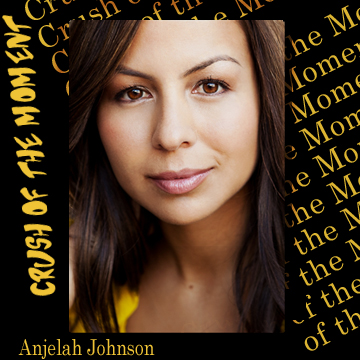 Anjelah Johnson is an upcomingcomic from the west coast .